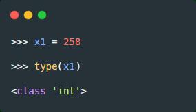 بررسی type داده عددی