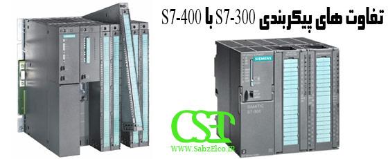 PLC S7-300 with S7-400